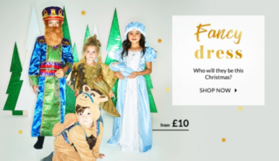 Who will they be next? Shop fancy dress outfits at George.com