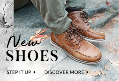 Step into comfort with our range of footwear at George.com