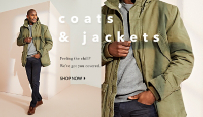 Cover up with our range of coats and jackets at George.com