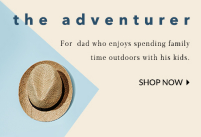 Get him a gift he'll love this Father's Day at George.com