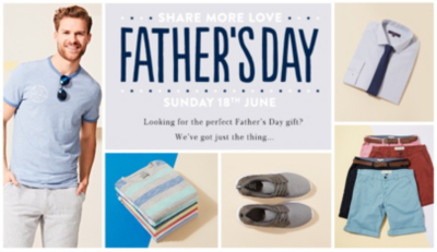 Shop Father's Day range now at George.com