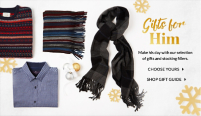 Find him a gift he'll love with our thoughtful range at George.com