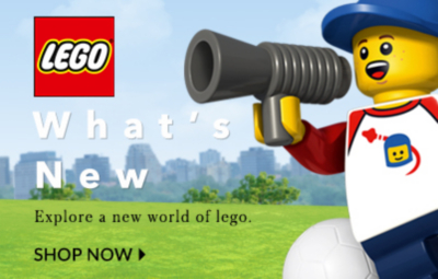 Build your imagination with our fantastic Lego range at George.com