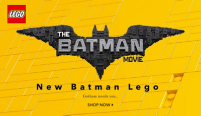 Ensure your day is action packed with the Lego Batman range at George.com