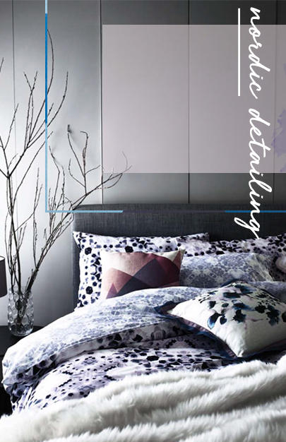 Updating your room just got easy with our graphic duvet covers, faux fur throws and geo cushions