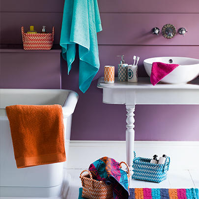 Take a little 'you' time with our refreshing and vibrant range of bathroom accessories at George.com