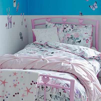 Add a whirl of character to their bedspace with our fantastic range of bedding at George.com