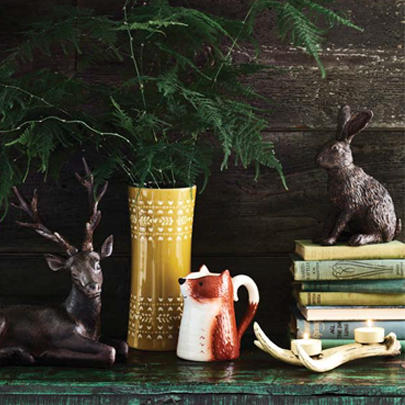 Transform your home into a woodland retreat with accessories from our Woodshed collection at George.com