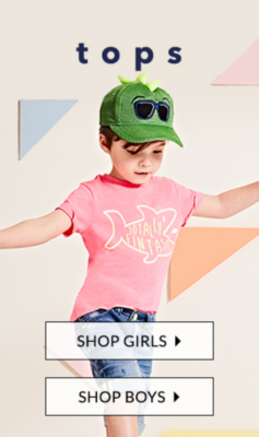 Look cool and stylish with our boys' tops at George.com