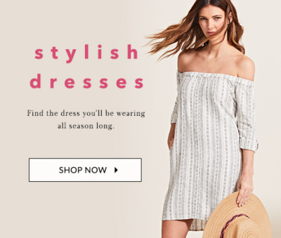 Add a stylish flair to any look with our selection of dresses at George.com