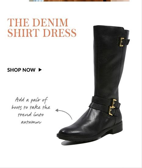 Shop black boots and black riding boots at George.com and take them into autumn
