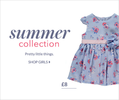 Find the perfect summer outfit for your little one with our girls' summer collection at George.com