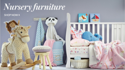 Make their first bedroom special with our contemporary range of nursery furniture at George.com