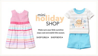 20% off all summer essentials for babies at George.com