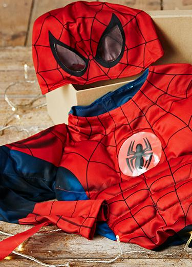 Buy them a character inspired gift this Christmas. From Spiderman and Frozen costumes to masks
