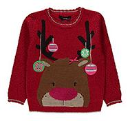 Get into the Christmas spirit with a range of Christmas jumpers at George.com