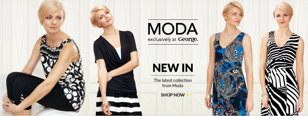 MODA exclusively at George - NEW IN