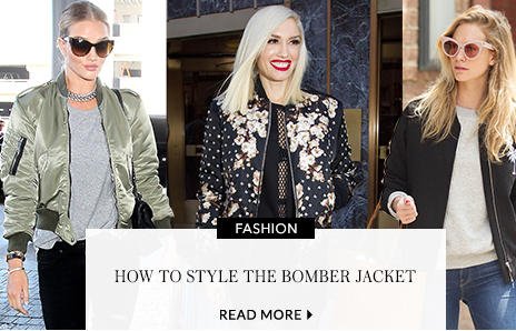 Find your perfect bomber jacket at George.com