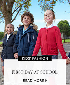 Find all their school essentials for the first day and beyond, now at George.com