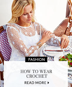 Browse a selection of pretty crochet tops at George.com