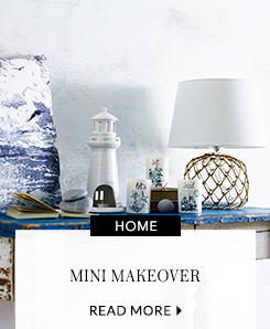 Be inspired by our home and garden décor ideas, just in time for summer at George.com