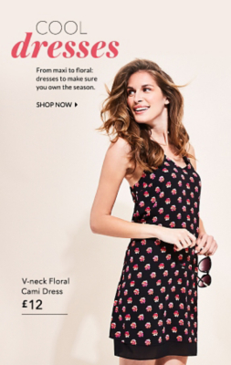 Own this season with our gorgeous maxi and floral dresses at George.com