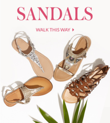 Explore our sandals range at George.com