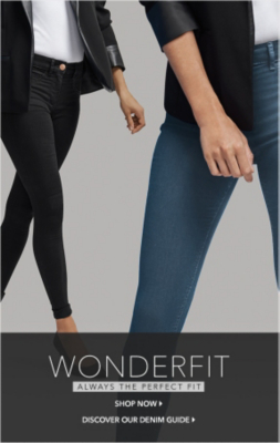 Discover what makes wondefit jeans so fabulous at George.com
