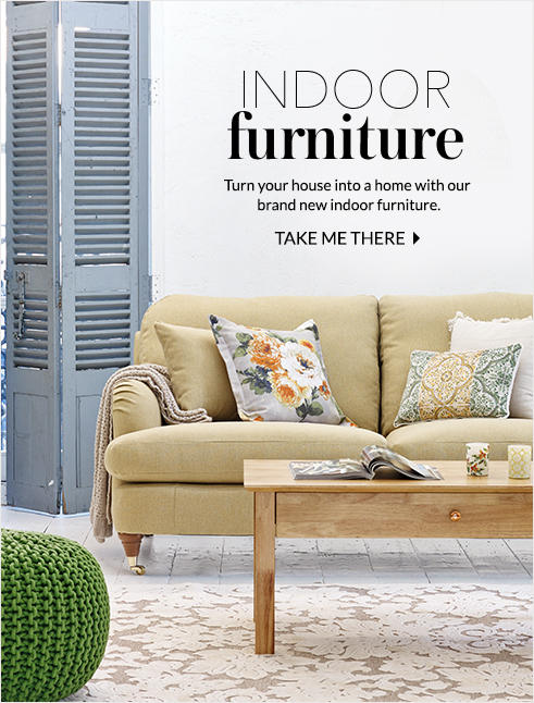 Explore our new indoor furniture range at George.com