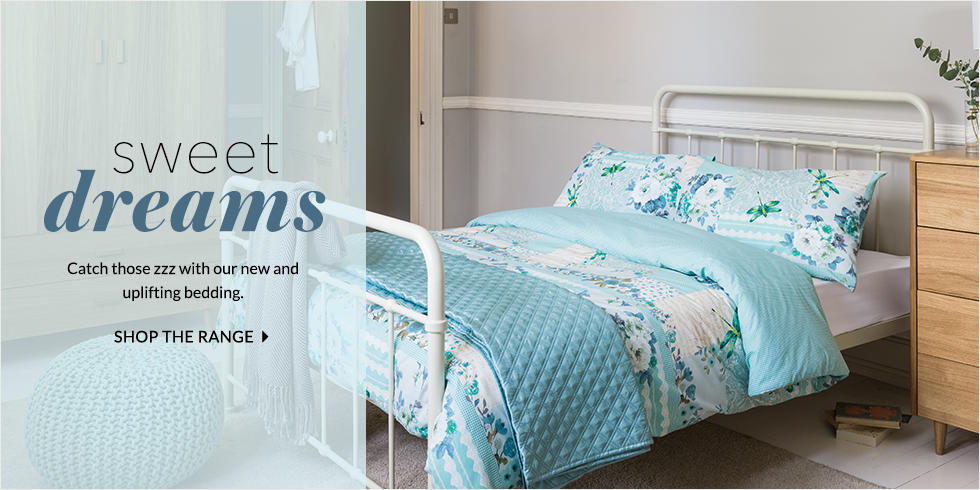 Get dreaming with our new bedding at George.com