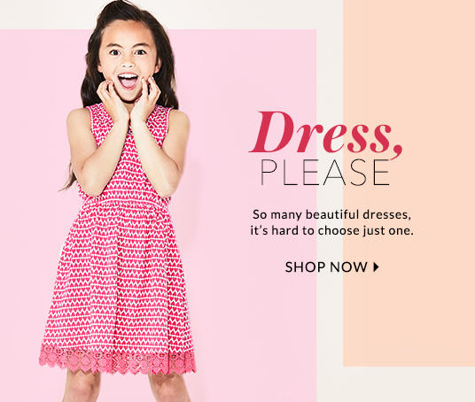 Get them set for summer with beautiful girls dresses at George.com