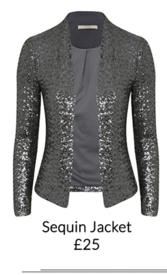 Pick from a range of sequined party wear from jackets to dresses at George.com