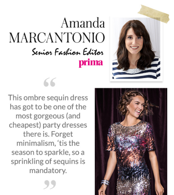 Amanda Marcantonio picks her favourite George.com party outfits