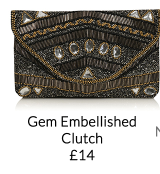 Go for beautiful beaded bags as your finishing party touch at George.com