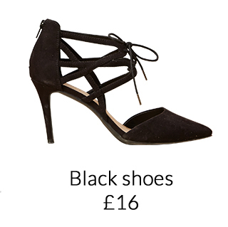 Shop a range of black party shoes at George.com
