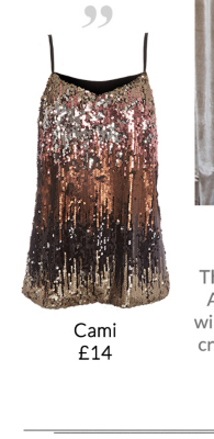 Stand out in sequins this party season with a gorgeous range of tops at George.com