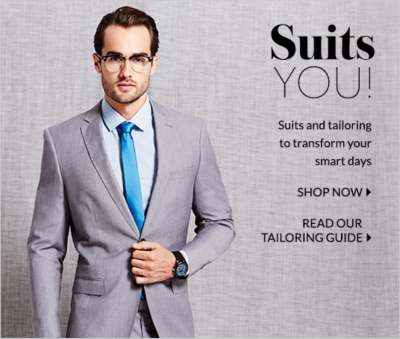 Discover men's suits at George.com