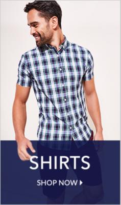 Shop shirts at George.com