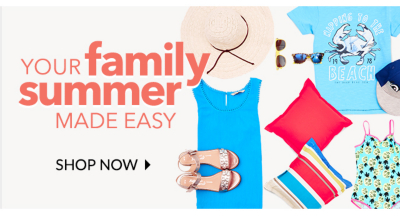 Stock up fpr your summer holiday at George.com
