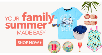 Explore our holiday shop range for all the family