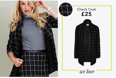 Discover a range of beautiful checked coats and jackets at George.com