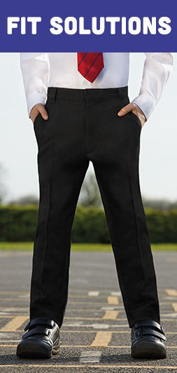 Browse our range of silm fitting school trousers at George.com