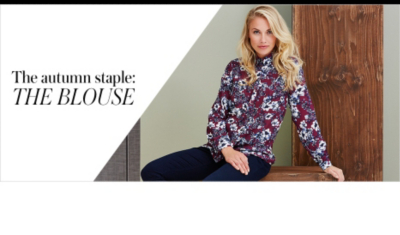 Shop a beautiful range of boho inspired blouses from florals to checks at George.com