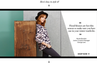 Discover a range of on-trend floral blouses and find out how to wear them at George.com