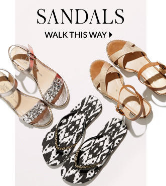 Explore our sandal range at George.com