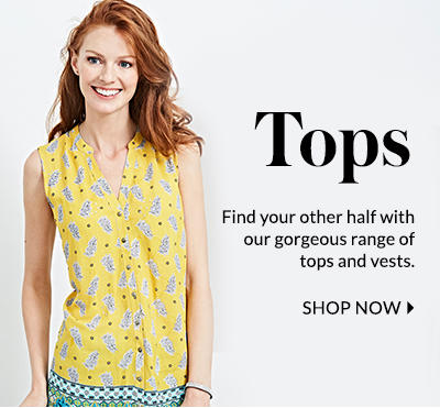 Shop our tops collection at George.com