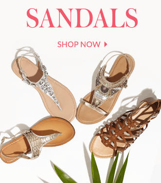 Explore our sandals range at George.com