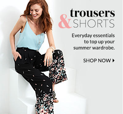 Top up your everyday essentials with our trousers and shorts at George.com