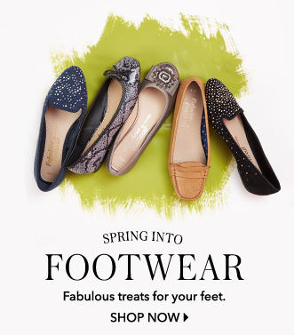 Walk around the women's footwear collection at George.com