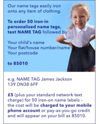 Now you've ordered your name tags, shop our school range at George.com
